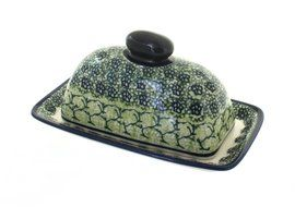 Polish Pottery Shannon Butter Dish