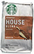 Starbucks Medium House Blend Ground Coffee 12oz