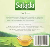 Salada All Natural 100% Green Tea : 40 Tea Bags N2