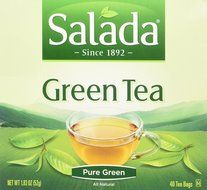 Salada All Natural 100% Green Tea : 40 Tea Bags N4