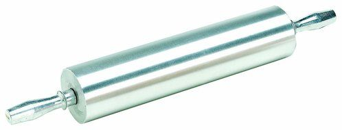 18 New Star Foodservice 37524 Extra Heavy Duty Restaurant Aluminum Rolling Pin Silver