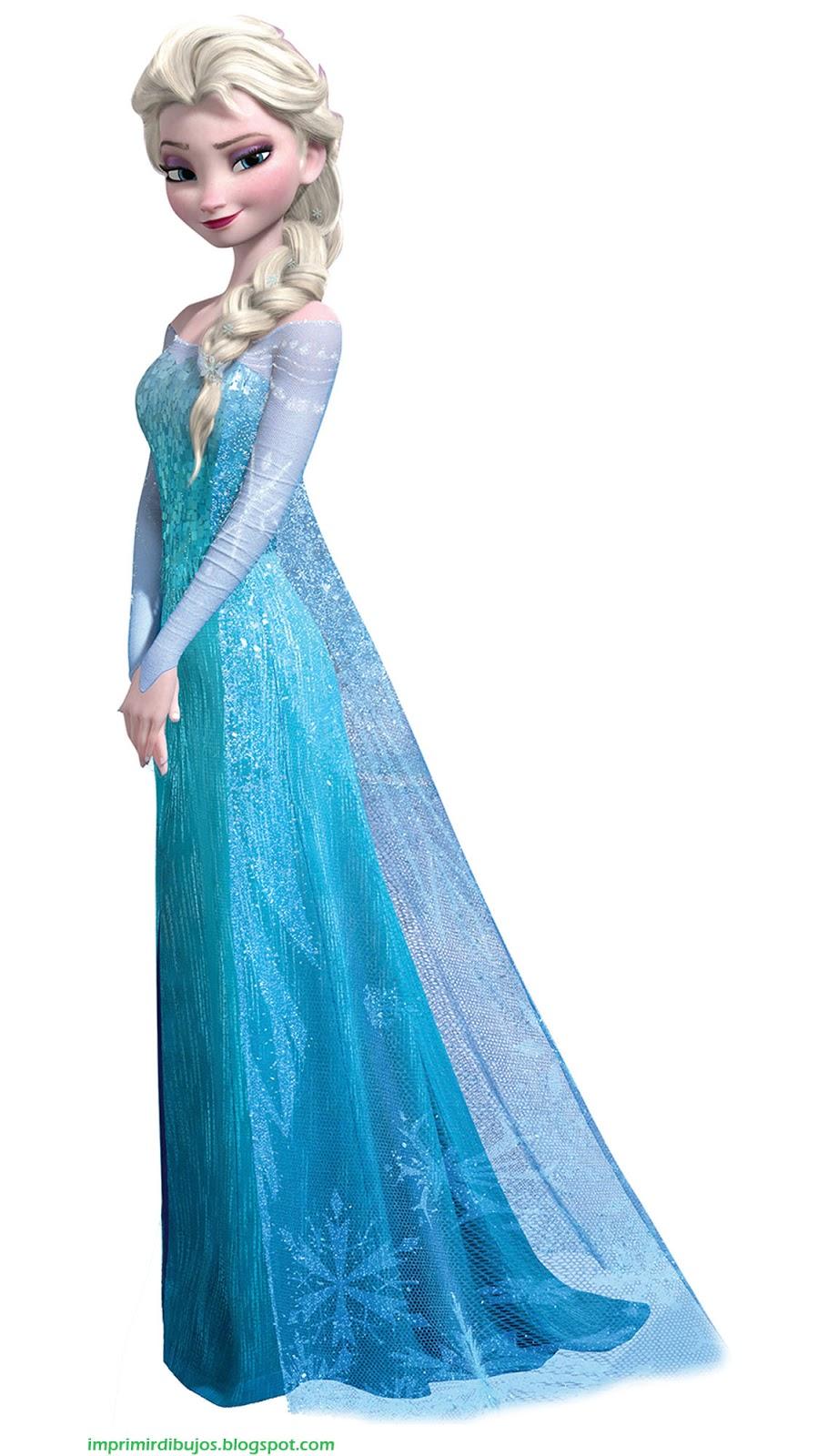 la reina elsa de frozen para imprimir recortar y pegar free image