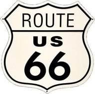 Printable Route 66 Road Sign