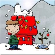 Charlie Brown post card drawing