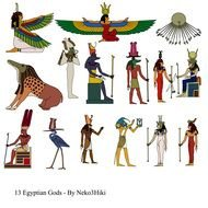 ancient Egyptian characters