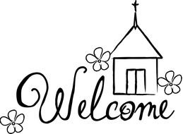 welcome to our church clip art free image rh pixy org