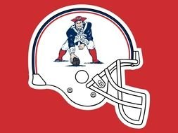 New England Patriots Old Logo drawing