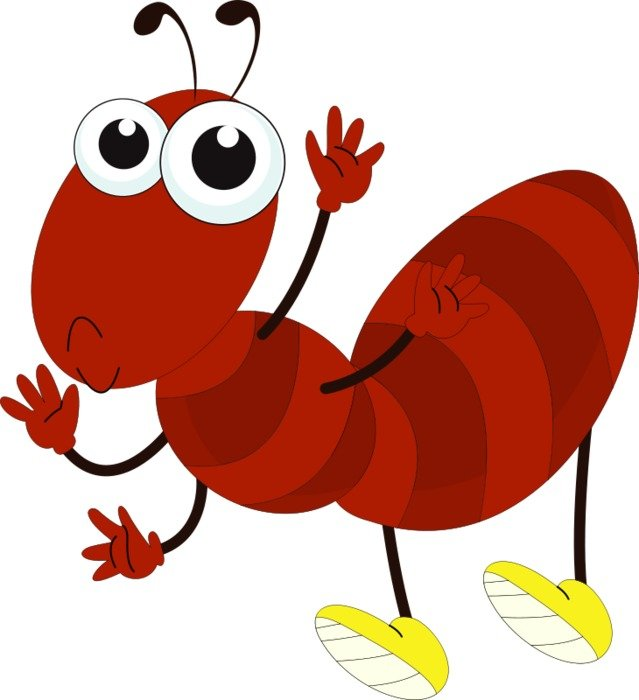 red Ant Clip Art drawing