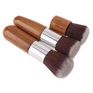 ShungHO 11pcs Bamboo Handle Cosmetic Makeup Brush Set Perfect for Use as Concealer Brush, Contour Brush, Cosmetic... N2