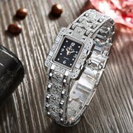 Yaheeda Fashion Women Lady Gril Bling Jewelry Stainless Steal Analog Wrist Watches N5
