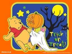Disney Winnie The Pooh Halloween Free Image