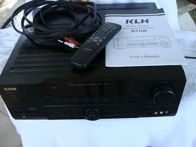 Klh r5100 manual download.
