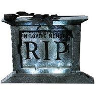 Tombstone Pedestal 22-inch with Rose Prop