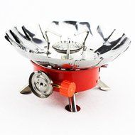 Spritech(TM) Camping Stove Burner,Portable Collapsible Outdoor Backpacking Gas Stove Burner