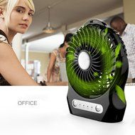 USB Fan/Portable Fan/Personal Fan,eBerry® Mini Handheld Cooling Fan,Electric Desktop Fan with 3 Speeds,Rechargeable... N2