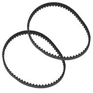 4YourHome 2-Pack Geared Drive Belt Designed to Fit Hoover Wind Tunnel Air Part 562535001