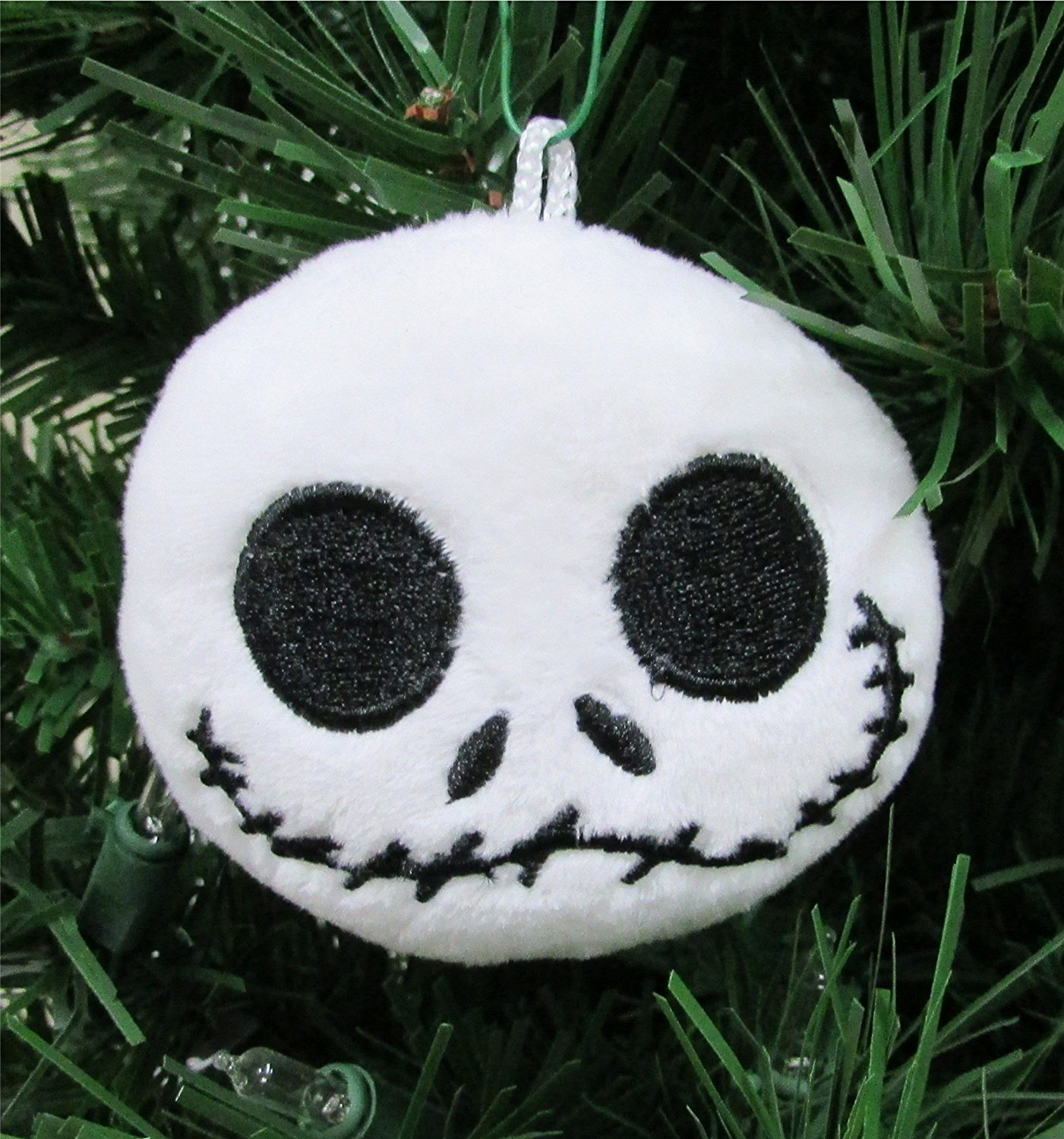 NIGHTMARE BEFORE CHRISTMAS Plush Ornament Set Featuring 6 Jack ...