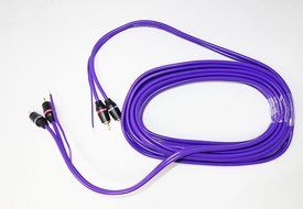 CA-12GM 12 ft RCA Cable Wire for Car Amplifier Stereo OR Home Audio
