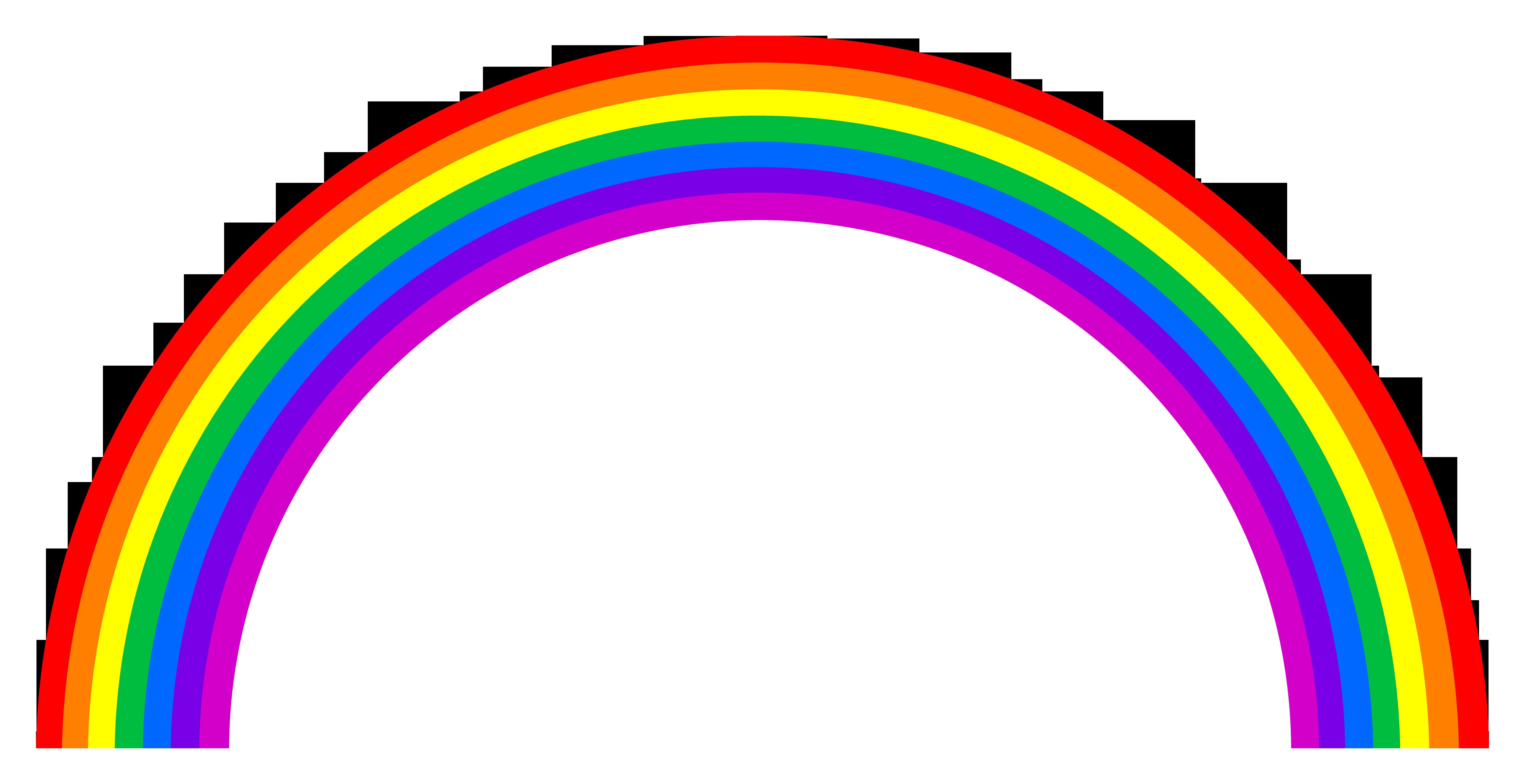 День, радуга картинка на прозрачном фоне