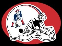 Clipart of New England Patriots Old Logo