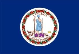 Clipart of Virginia State Flag