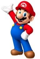 happy Mario Clip Art drawing