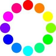 Color Circle Clip Art