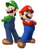 Mario and Luigi clipart