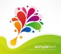 Background Colorful Vector Graphic Designs