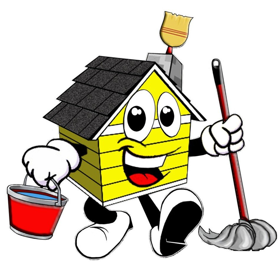 House Cleaning Clip Art drawing