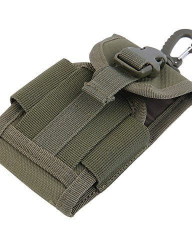 SB@4.5 inch Universal Army Tactical Bag for Mobile Phone Hook Cover Pouch Case , khaki N4