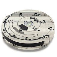 Skin Decal Vinyl Wrap For IRobot Roomba 650 655 Vacuum / Music Notes Song Page