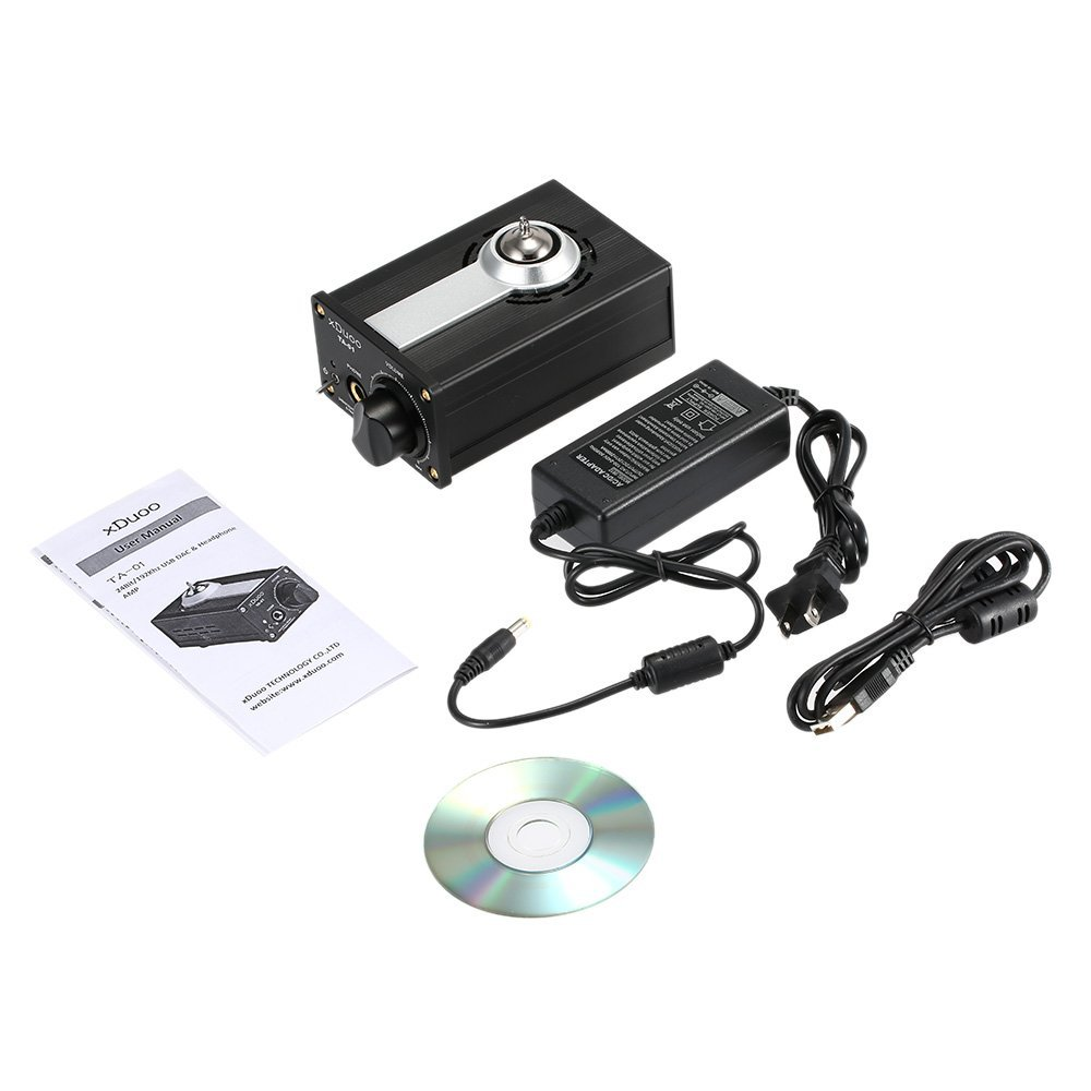 Xduoo Ta 02 6j1x 2 Stereo Vacuum Tube Headphone Amplifier Class A Buffer Amp N2