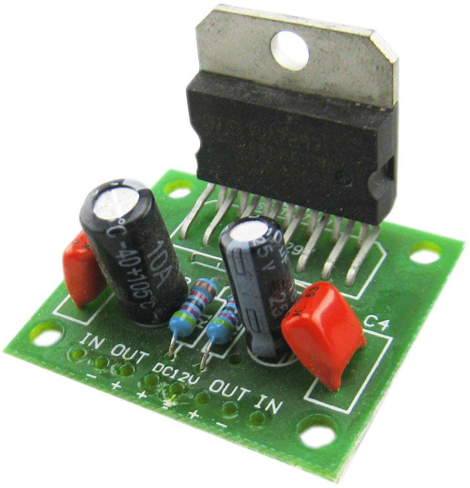 Audio Power Amplifier DC6V to 18V TDA7297 Module Dual Channel 15W+15W Board