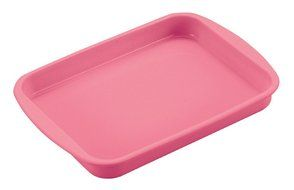 Parukinzoku suite Cross Heart-to-silicone roll cake baked type 23 ~ 17cm Pink D-2066