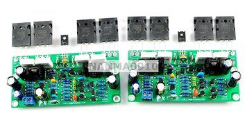 SMO LM4702+2SA1943+2SC5200 Audio power Amplifier AMP Board free image