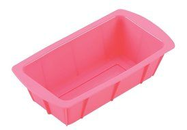 Parukinzoku suite Cross Heart 2 silicone pound cake baked type 21cm Pink D-1586