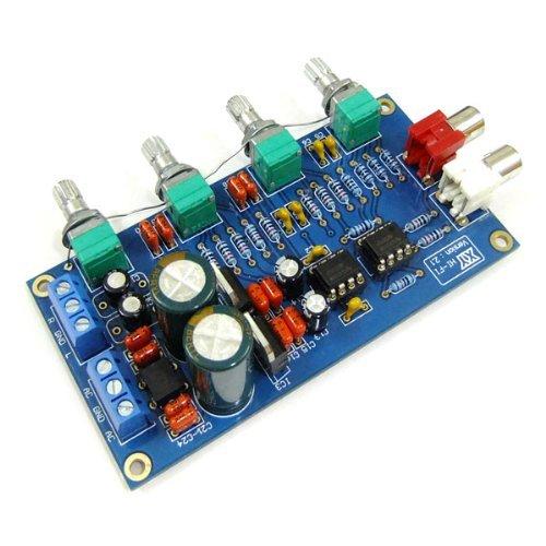 DROK® NE5532 Preamp Volume Control Board 10 Times Pre-amp A51 Treble