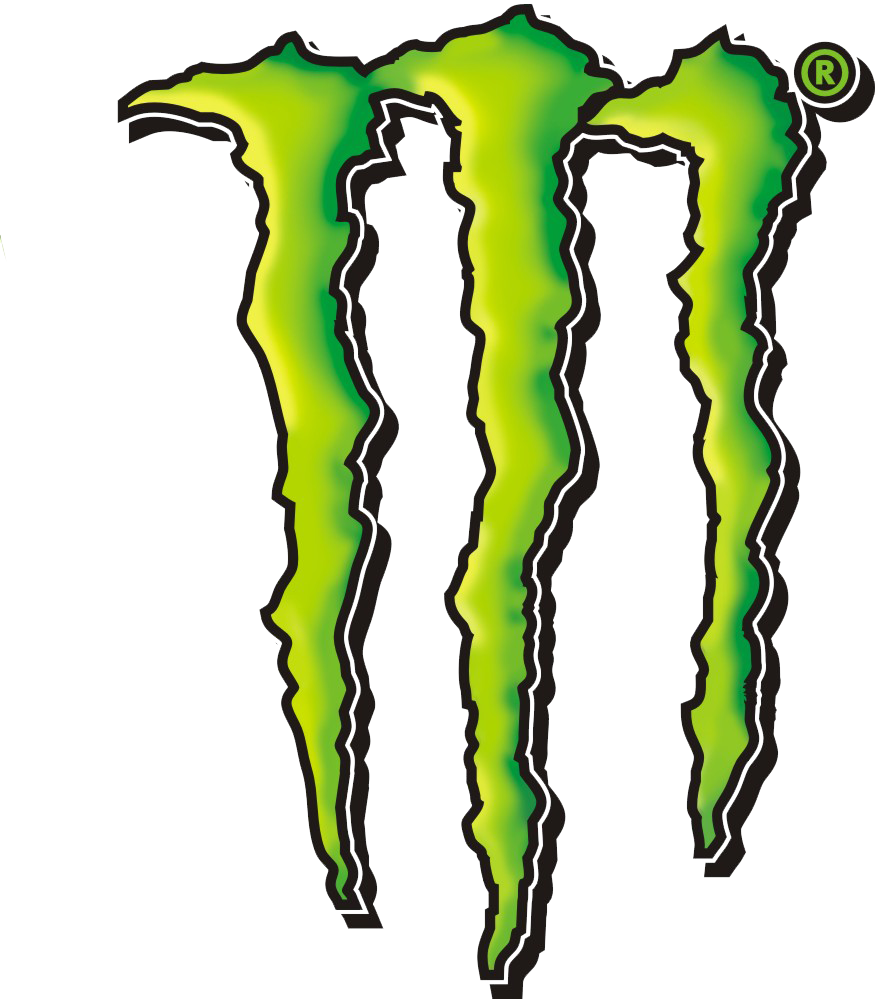 monster energy logo vector free image