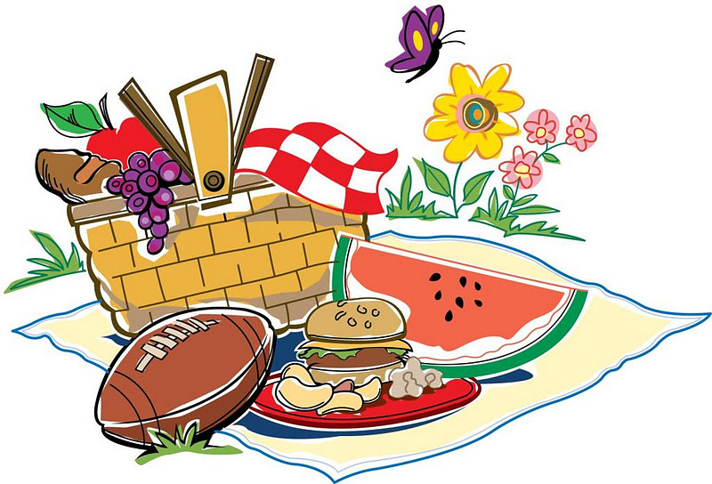 Tools for picnic clipart free image