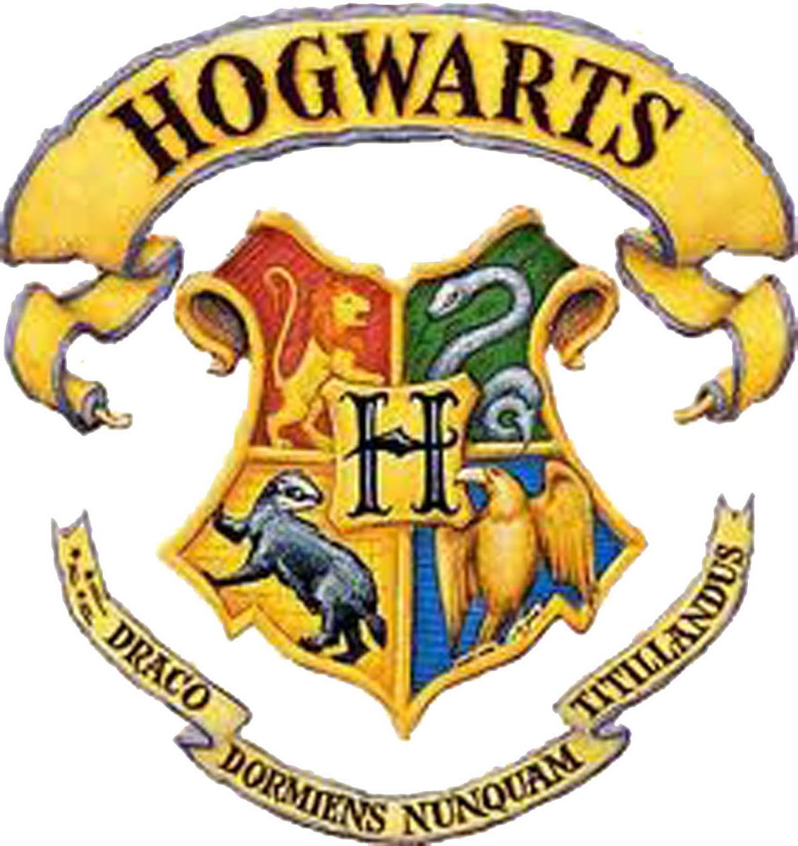 Harry potter logo. Hogwarts free image