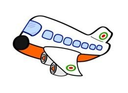 Airplane Cartoon Clip Art drawing