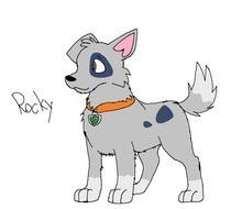 PAW Patrol Rocky as a picture for clipart