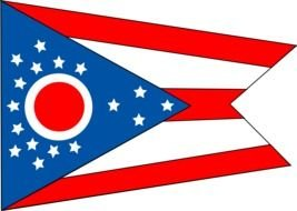 Flag Of The State Ohio drawing