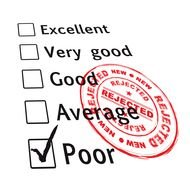 Self Test Evaluation clipart