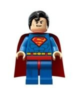 LEGO Superman as a graphic illustration