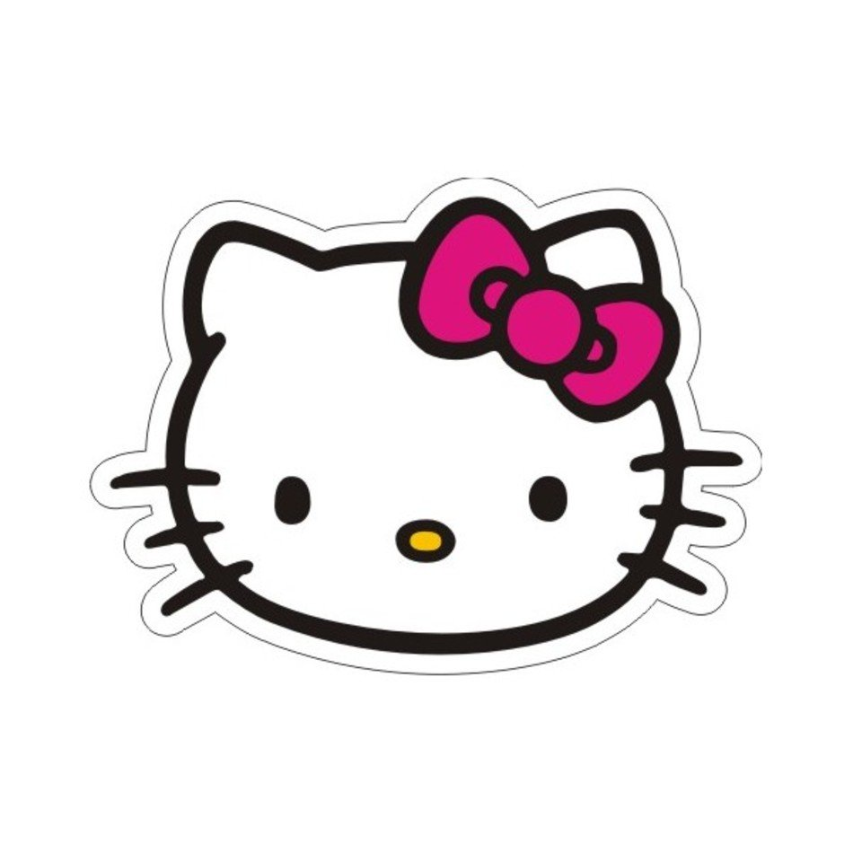 9ed34a085 Pink Hello Kitty Face free image