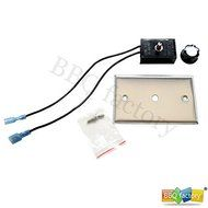 bbq factory Variable Speed Electric Motor Control for Fireplace Fan / Fireplace Blower Kit N2