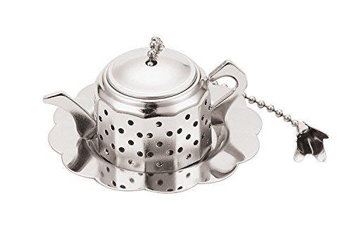 Paderno World Cuisine A4982411 Tea InfuserEgg Silver
