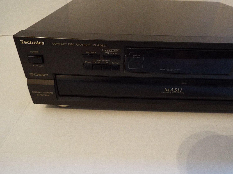 Technics SL-PD827 5 Disc CD Player free image